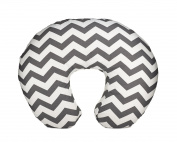 Org Store Premium Nursing Pillow Cover | Slipcover for Breastfeeding Pillows | Fits Boppy Pillows | Chevron Patterned