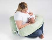 One Z PLUS Nursing Pillow - Plus Size nursing pillow w/ Cuddle Cover