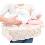M'Baby Nursing Pillow Breastfeeding Baby Pillow, Pink Rabbit
