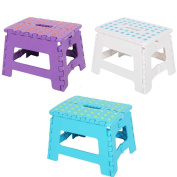 KARMAS PRODUCT 3 Pieces Super Strong Folding Step Stool for Adults and Kids,Kitchen Stool