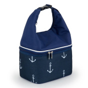 YONOVO Insulated Lunch Bag Cooler Tote with Food Grade Compartment for Work Office School Outdoor, Anchor Shape