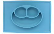 Chef Vinny Large Smiley Face Silicone Baby Placemat