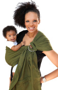 Maya Wrap ComfortFit Ring Sling & Baby Carrier - Olive Green - Medium