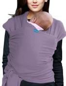 Vlokup Baby Wrap Infant Carrier Newborn Sling Soft Wrap Ideal Shower Gift Eggplant