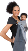 Maya Wrap Lightly Padded Ring Sling Baby Carrier - Asher - Medium