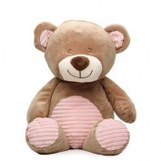 50cm Bear Plush Rattle (pink)