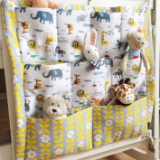 BOM Nursery & Nappy Hanging Organisers for Baby Bed Crib Bed Hanging Storage Bag