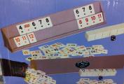 Okey Game Turkish Rummikub Plastic Set
