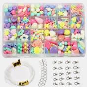 Ewparts Children DIY Bracelet Bead Art & Jewellery-Making , Bead string making set , Cultivate Colour sensitive, Colour will not Fade
