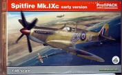 Eduard Model Kit - Early Version Spitfire Mk.Ixc Plane - 1:48 Scale - 8282 - New