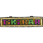 Amscan International 198865 Hawaiian Tiki Sign Bar