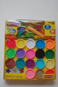Play-doh Super Colour Kit, 18 Fun Colours, 16 Tools and Accessories