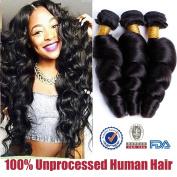 "ALIBALLY 16""18""20"" Brazilian Loose Wave 10A Grade Virgin Unprocessed Human Hair Bundle Deals Brazilian Hair Weave Bundles Virgin Human Hair 3 Bundles 100/pc Loose Wave Cheap Brazilian Hair Bundles"