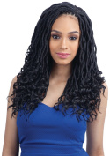 GODDESS LOC 36cm (1 Jet Black) - FreeTress Synthetic Crochet Braid