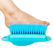 Foot Brush Scrubber Massager Washers Spa for Shower Blue KIAYACI