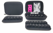 Essential Oil Carrying Case Three surface convertible Suitable for Roller Bottles of 1ML-10ML 12 -22 holes Black