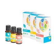 JVOOV Energise Essential Oils Set - 100% Pure, Food Grade Essential Oil