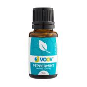 JVOOV Peppermint Essential Oil - 15mL - 100% Pure, Food Grade Essential Oil