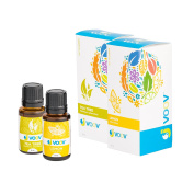 JVOOV Green Clean Essential Oils Set - 100% Pure, Food Grade Essential Oil