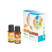 JVOOV Spicy Citrus Essential Oils Set - 100% Pure, Food Grade Essential Oil