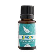 JVOOV Eucalyptus Essential Oil - 15mL - 100% Pure, Food Grade Essential Oil