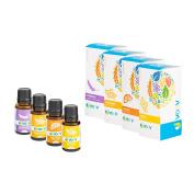 JVOOV Relief Essential Oils Set - 100% Pure, Food Grade Essential Oil