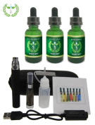 Triple Crown Complete Personal Aromatherapy Kit with Inhaler Pen. With Lung Nourishment, Stress Management, Energy & Alertness formulas