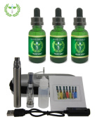 Triple Crown Complete Personal Aromatherapy Kit with Inhaler Pen - With Lung Nourishment, Stress Management, Energy & Alertness formulas
