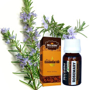 Rosemary Oil from Niradhi Herbals : Best Therapeutic Grade Essential Oil-15 ml/0.5 FL OZ