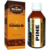 Pine Oil from Niradhi Herbals : Best Therapeutic Grade Essential Oil-120 ml/4.1 FL OZ