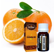 Sweet Orange from Niradhi Herbals : Best Therapeutic Grade Essential Oil-15 ml/0.5 FL OZ