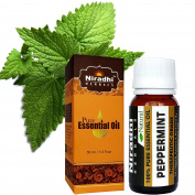 Peppermint Oil from Niradhi Herbals : Best Therapeutic Grade Essential Oil-30 ml/1 FL OZ