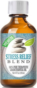 Best Stress Relief Blend Oil - 100% Pure Stress Relief Blend Essential Oil - 120ml