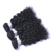 MeiRun 7A Water Wave Virgin Hair 3 Bundles Brazilian Hair Weave Bundles Human Hair 8-70cm Natural Black