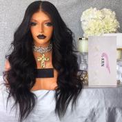Carina Hair 7A Real Human Hair Brazilian Body Wave Hair Glueless Lace Front Wig
