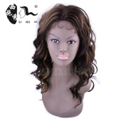 Water Wave Synthetic No Lace Front Wigs For Black Women