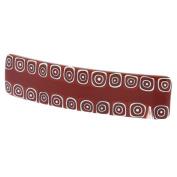 Murano Glass Millefiori Hair Clip - Red