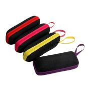 Niceskin Portable Eye Glasses Sunglasses Hard Case Protector, Plastic