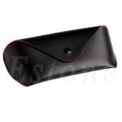Niceskin Portable Eye Glasses Sunglasses Hard Case Protector, Leather