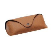 Niceskin Eye Glasses Sunglasses Hard Case Protector Durable, Faux Leather