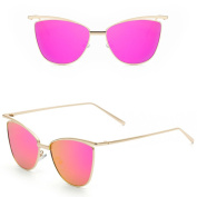 Niceskin Cat Eye Sunglasses Shades for Women Outdoor, Resin and Metal