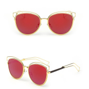 Niceskin Retro Cat Eye Sunglasses Shades for Women Outdoor, Resin and Metal