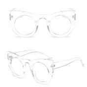 Niceskin Retro Mirror Oversized Sunglasses Shades for Women, Resin and Plastic