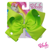 JoJo Siwa Signature Collection Hair Bow - Chartreuse With Sticker Patch Set Included