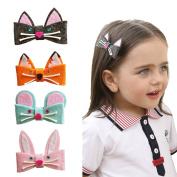 Baby Girls Children's Animal Hair Clips Fox Design Toddler Hair Clip Accessories-Fox