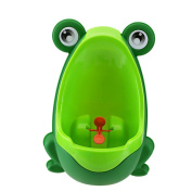 IVYRISE Frog Children Toilet Potty Training Urinal Kids Toddler Pee Trainer Bathroom with Funny Aiming Target