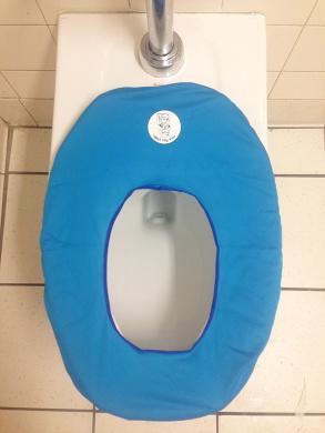 Lolajoy's Potty Armour Making Potty Training Stress-Free, Germ-Free, Ocean Blue