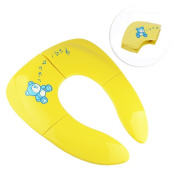 O-Best Portable Folding Travel Potties Baby Toddler Potty Training Seat Cover with Carry Bag for Kids