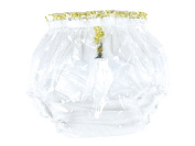 Haian ABDL Pull-On Locking Plastic Pants Colour Glass Clear