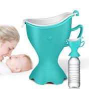 [Potty Training Urinal] Aonkey Emergency Car Potty Urinal, Reusable & Spill Proof Light Weight Portable Travel Urinal for Potty Training Toddlers, Outdoor Potty Toilet (Blue)
